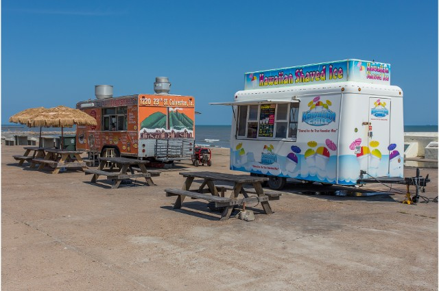 Galveston Island Sewall sno cones