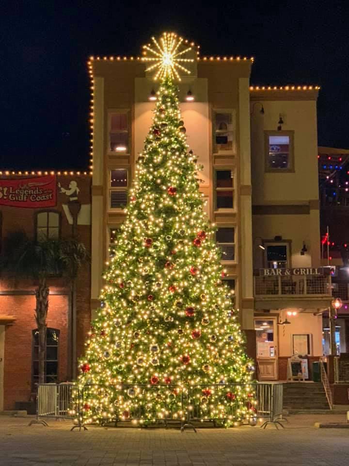 Downtown-Galveston-Christmas-Tree